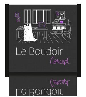 Le Boudoir Concept<br />Création de rideaux sur mesure